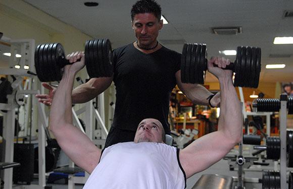 Miklós Péter, személyi edzés